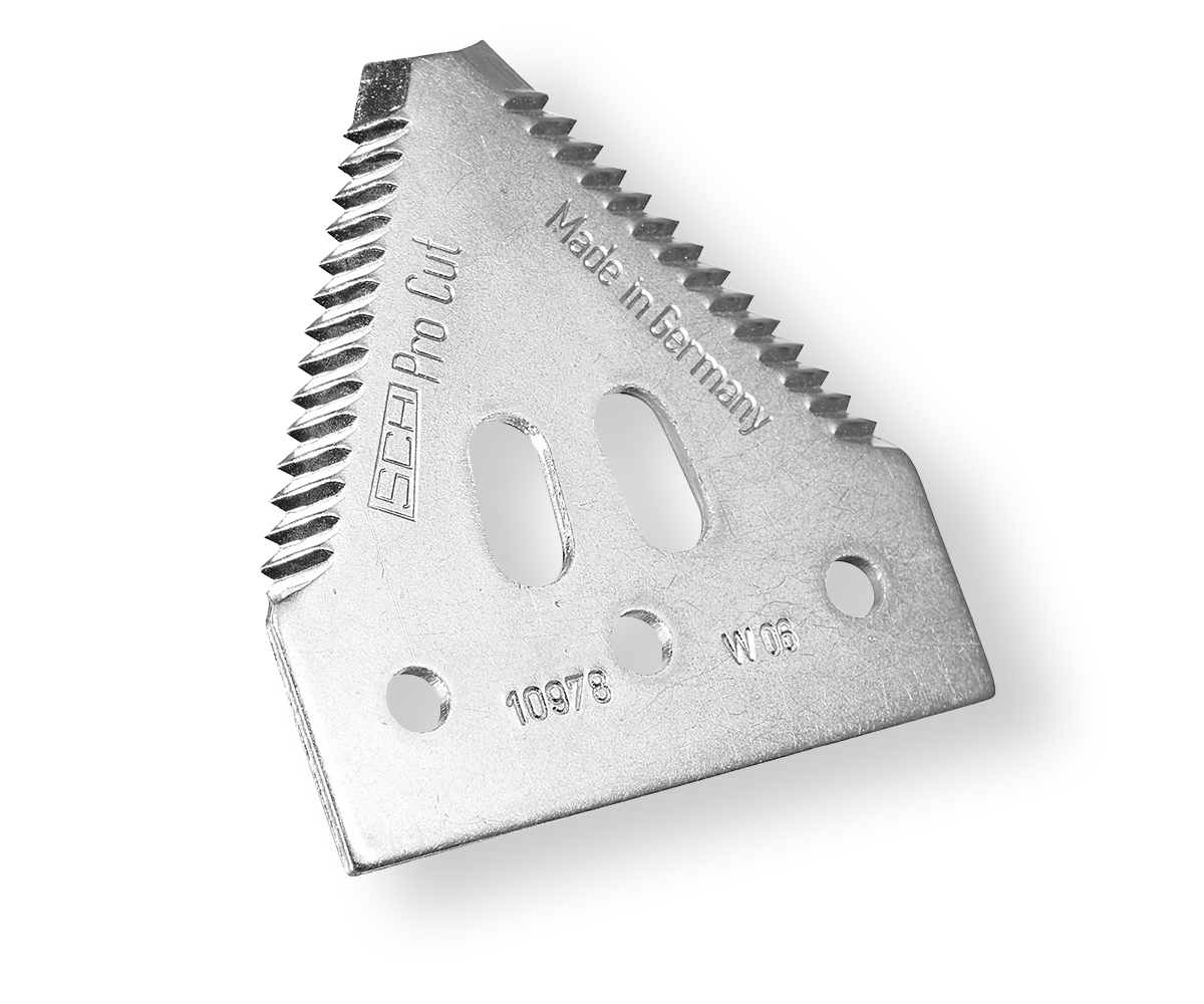 There are various variants of EasyCut II sections: With 7, 11 and 14 tpi serration