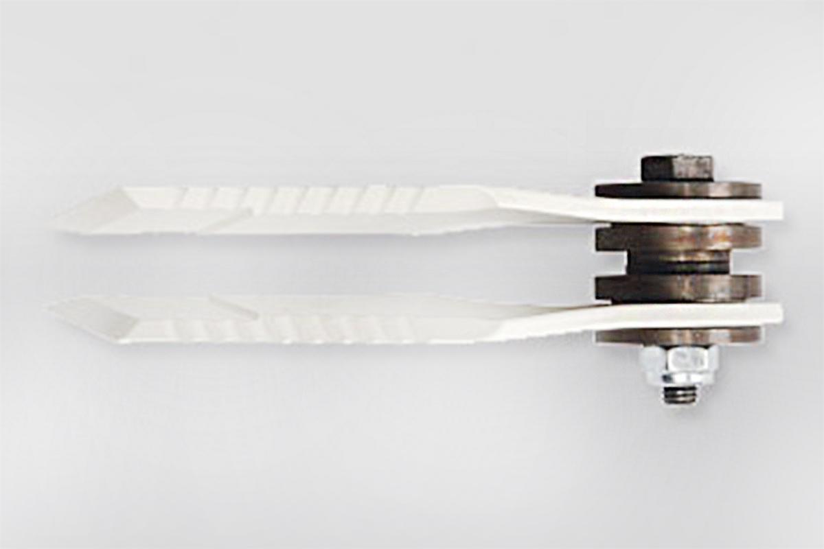 Gerade Ausführung Paddlemesser zur Breitverteilung