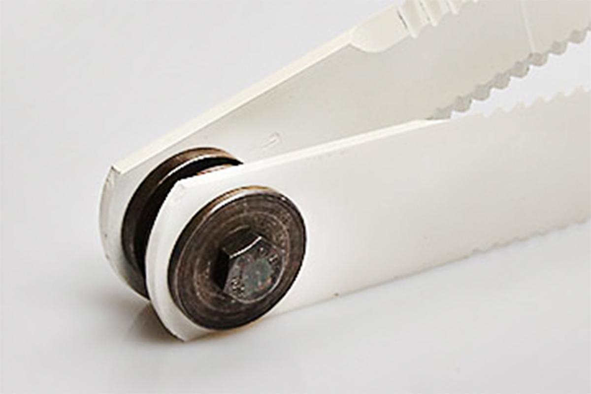 Hartschicht-Strohhäckslermesser im Set mit Buchsen