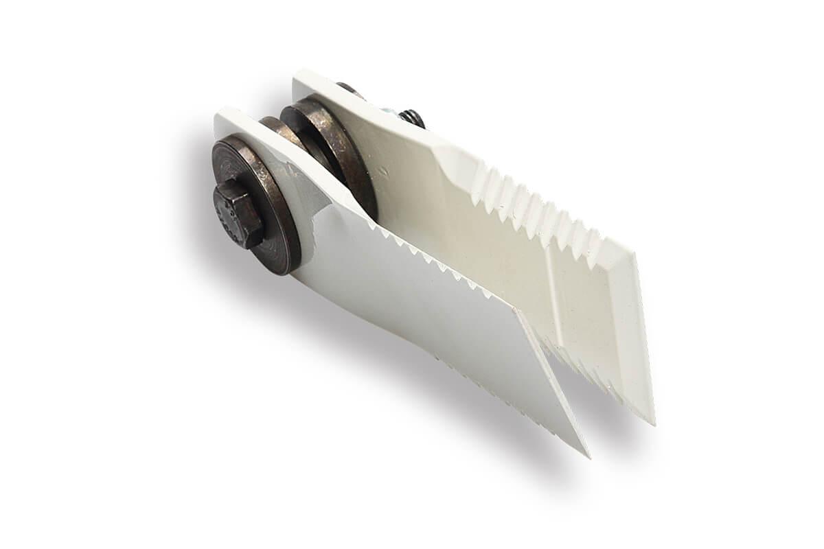 Straw chopper knives