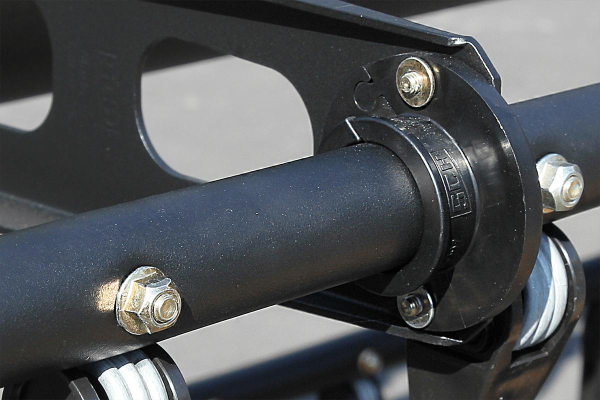 Non-slip EasyReel plastic bearings