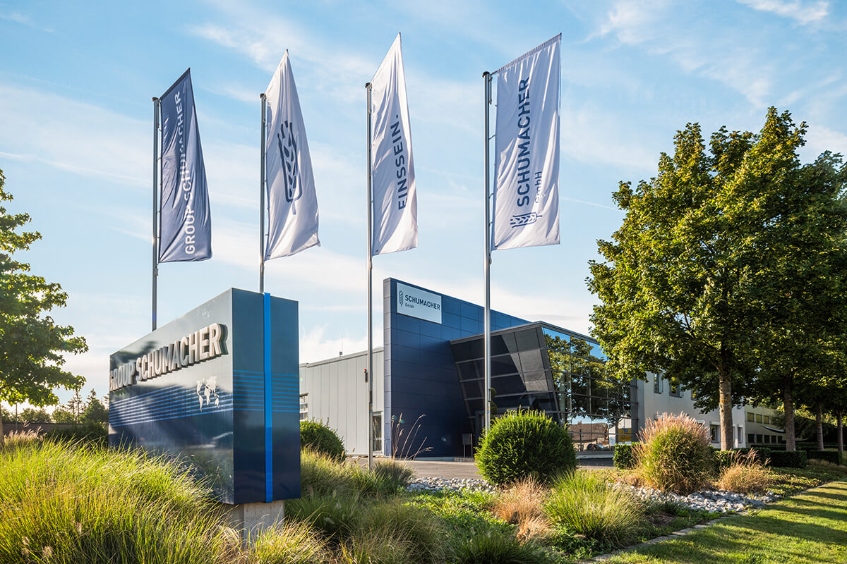SMF Holding GmbH is the parent company of GROUP SCHUMACHER.