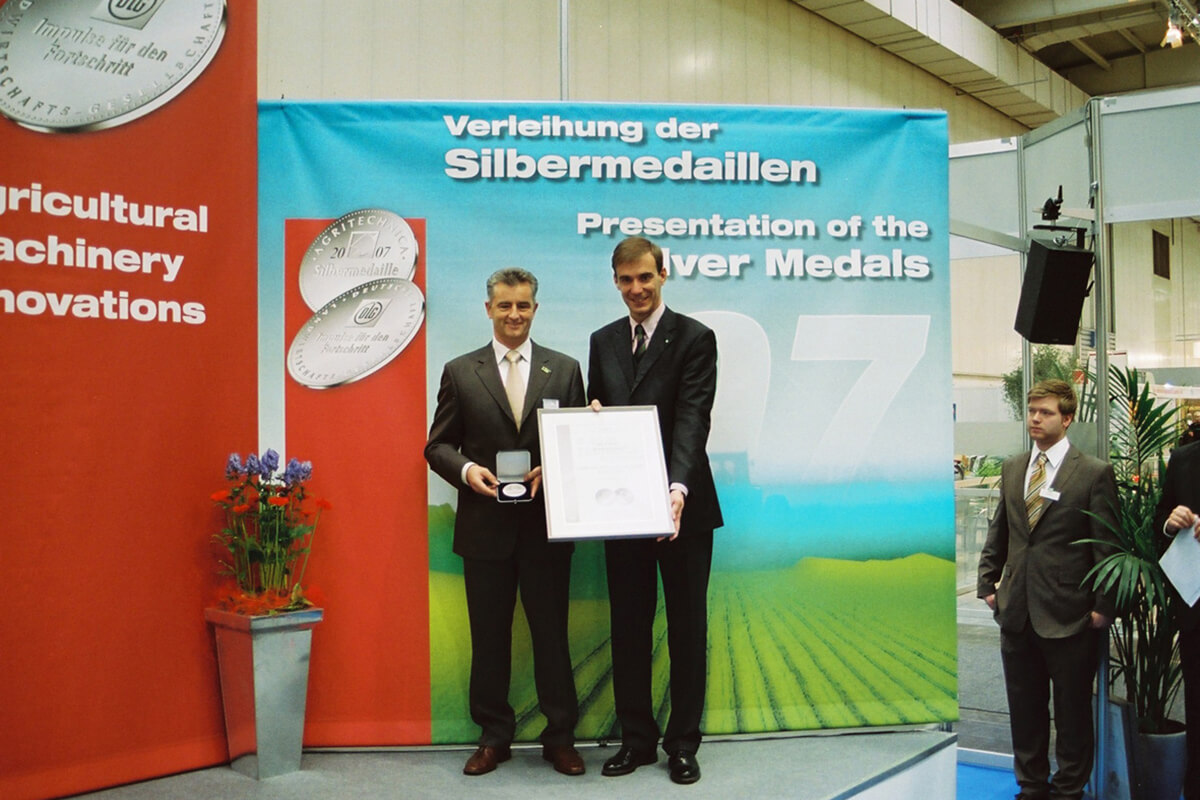 GROUP SCHUMACHER has received the silver medal