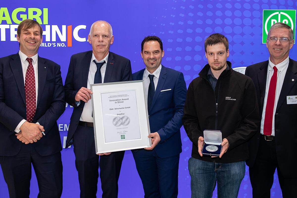 GROUP SCHUMACHER receives an award