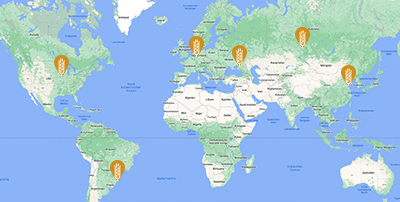 Alle Standorte von GROUP SCHUMACHER