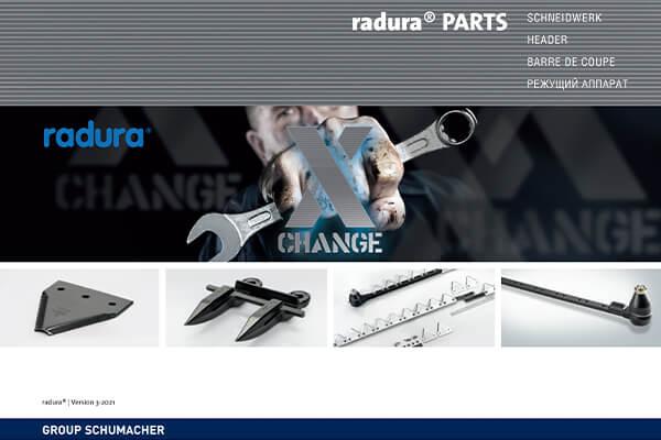 Group Schumacher Radura Parts Katalog