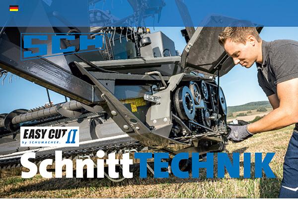 Group Schumacher SCH Schnitt Technik Broschuere Deutsch