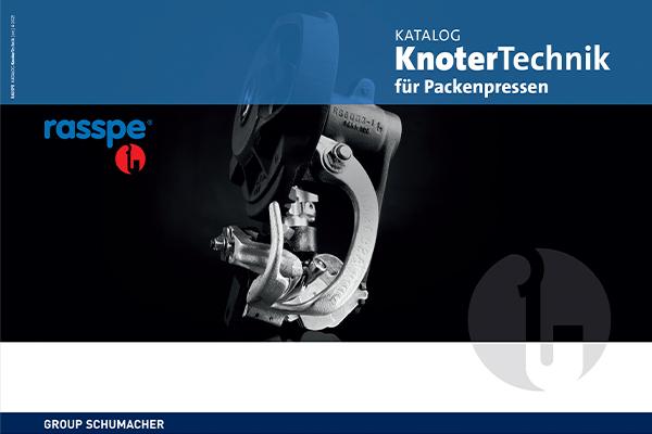 Rasspe Katalog für KnoterTechnik