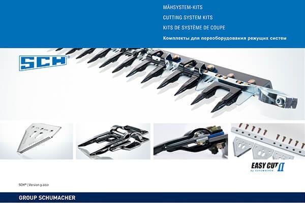 Group Schumacher Maehsystem Katalog
